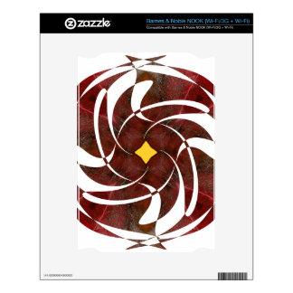 Otoño que gira noviembre de 2012 cruzado NOOK skins