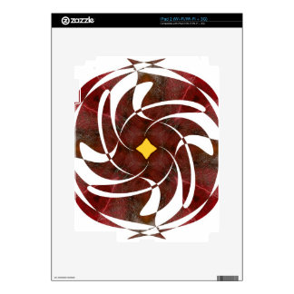 Otoño que gira noviembre de 2012 cruzado iPad 2 skins