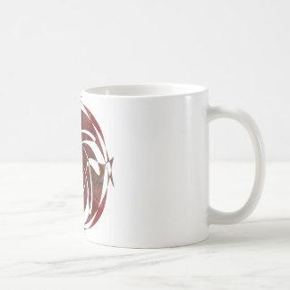 Otoño que gira noviembre de 2012 cruzado taza de café