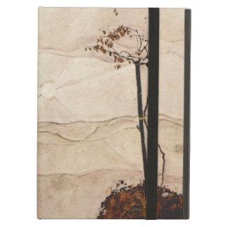 Otoño Sun y árboles de Egon Schiele