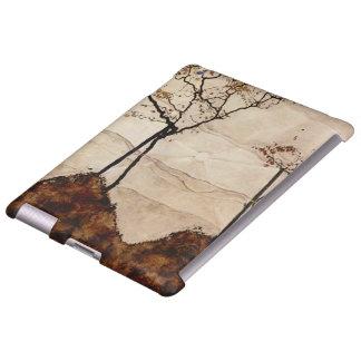Otoño Sun y árboles de Egon Schiele Funda Para iPad