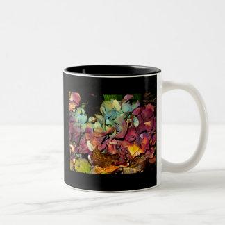 otoño taza de café de dos colores