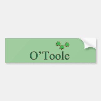 O'Toole Family Bumper Sticker