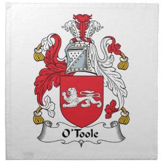 O'Toole Family Crest Cloth Napkin