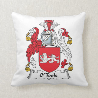 O'Toole Family Crest Pillow
