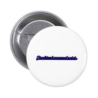 Otorhinolaryngologist Classic Job Design 2 Inch Round Button