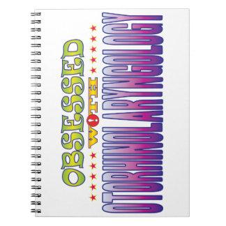 Otorhinolaryngology 2 Obsessed Note Book