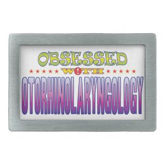 Otorhinolaryngology 2 Obsessed Rectangular Belt Buckle