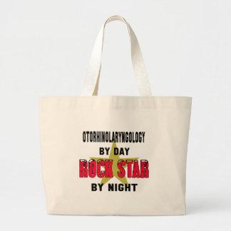 Otorhinolaryngology by Day rockstar by night Jumbo Tote Bag