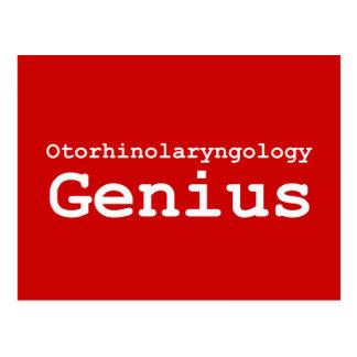 Otorhinolaryngology Genius Gifts Postcard