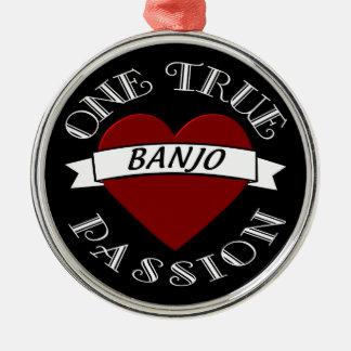 OTP: Banjo Metal Ornament