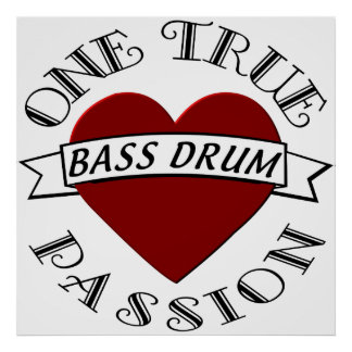 OTP: Bass Drum Poster