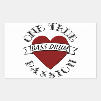 OTP: Bass Drum Rectangular Sticker