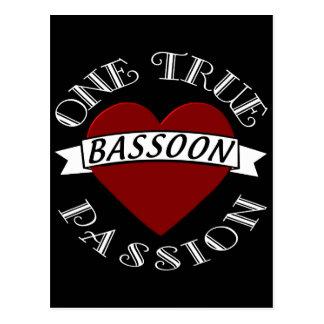 OTP: Bassoon Postcard