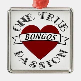 OTP: Bongos Metal Ornament