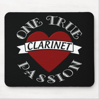 OTP: Clarinet Mouse Pad