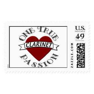 OTP: Clarinet Postage Stamp