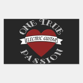 OTP: Electric Guitar Rectangular Sticker