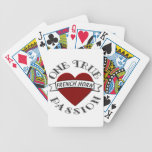 OTP: French Horn Bicycle Poker Cards