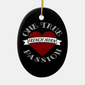OTP: French Horn Ceramic Ornament