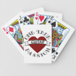 OTP: Guitar Bicycle Poker Cards