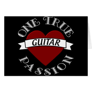 OTP: Guitar Card