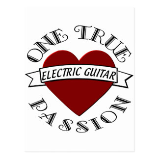 OTP: Guitarra eléctrica Tarjeta Postal