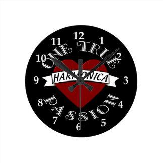 OTP: Harmonica Round Clock