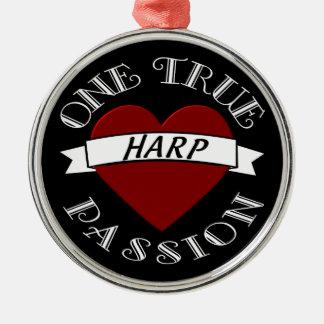 OTP: Harp Metal Ornament