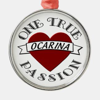 OTP: Ocarina Metal Ornament