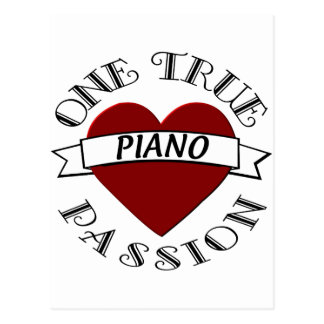 OTP: Piano Postcard