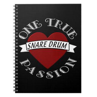 OTP: Snare Drum Spiral Notebook