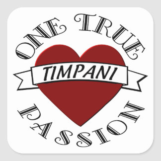 OTP: Timpani Square Sticker