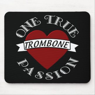 OTP: Trombone Mouse Pad