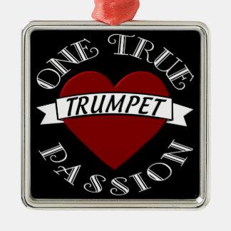 OTP: Trumpet Metal Ornament