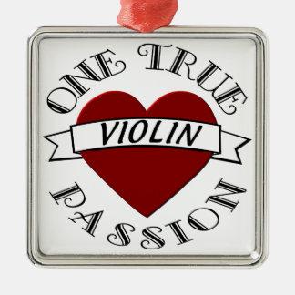 OTP: Violin Metal Ornament