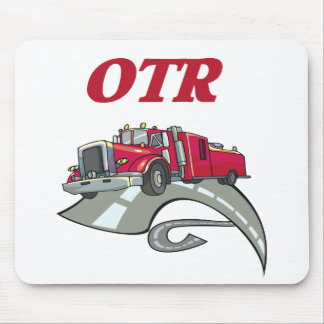 OTR Truck Driver Mouse Pad