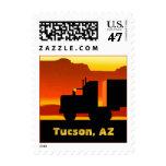 OTR Truck Semi Road Travel Stamp Arizona Tucson