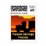 OTR Truck Semi Stamp Tarpon Springs Florida FL