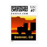 OTR Truck Semi Travel Stamp Denver Colorado CO