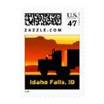 OTR Truck Semi Travel Stamp Idaho Falls ID Idaho
