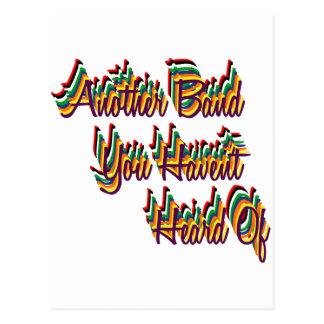 Otra banda que usted no ha oído hablar tarjetas postales