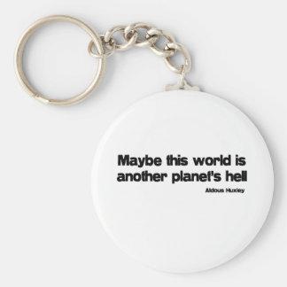 Otra cita del infierno de los planetas llavero redondo tipo pin