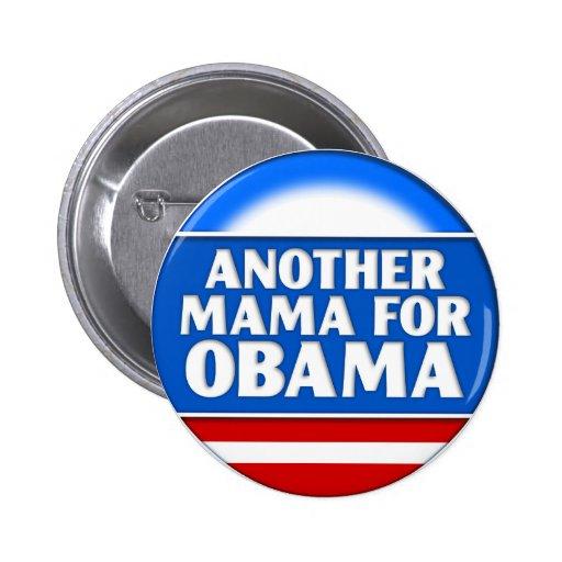 Otra mamá para el botón de Obama Pins