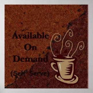 otra más muestra del café de modificar para requis posters