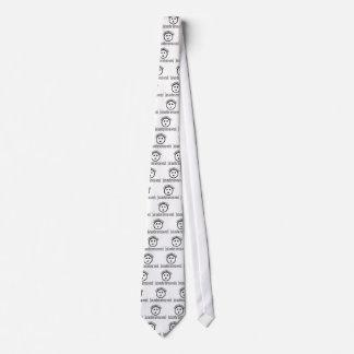 Otra ropa nerviosa de la ruina corbata personalizada