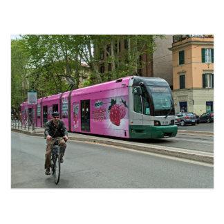 Otra tranvía en Roma Postales