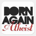 Otra vez llevado ateo pegatina
