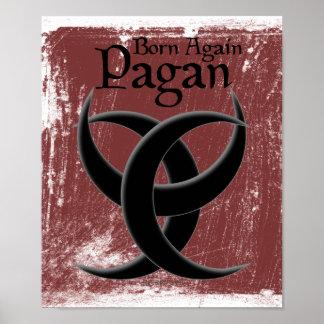 Otra vez llevados posters paganos