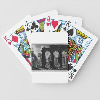 Otra vista de la fachada de los pronaos Juan Baraja Cartas De Poker